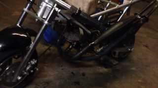 pocket bike bicylindre