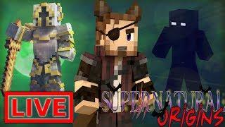 Minecraft Supernatural Origins #19.5 (Live Modded Survival) /w Xylophoney