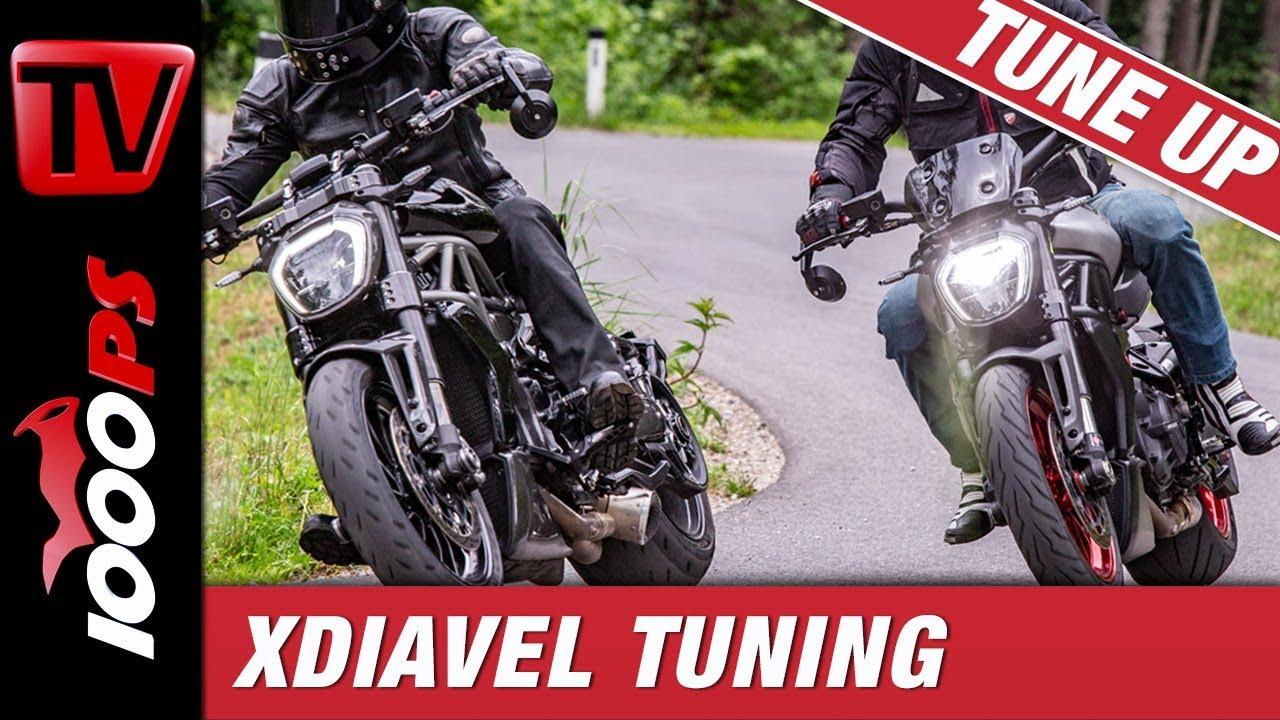 Ducati XDiavel TuneUp 2019 mit ZARD und Martin Bauer
