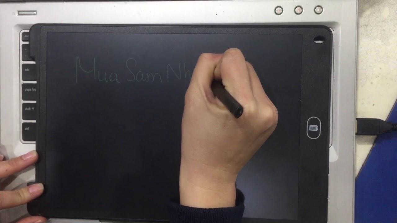 Bảng vẽ viết Thông Minh Lớn Không Mực, không bụi Phấn, màn LCD 12 inch-MSN388260