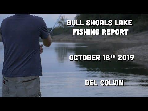 Mid October Fishing Report | Bull Shoals Lake | Del Colvin