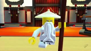 LEGO Universe Video Game, Ninjago Masters Of Spinjitzu Trailer HD - Video Clip - Game Trailer - Game