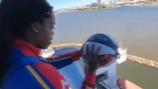 Incroyables trick shots des Harlem Globetrotters à bord du Queen Mary