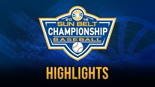 2018 Sun Belt Baseball Championship: Game 14 Highlights (5/26/18)