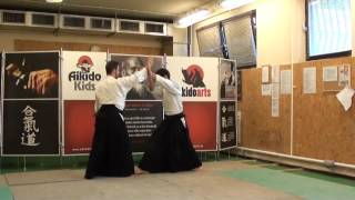 shomen uchi shihonage omote [TUTORIAL] Aikido basic technique