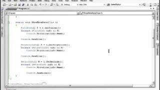 Урок 94 C# Отражение рефлексия часть 2