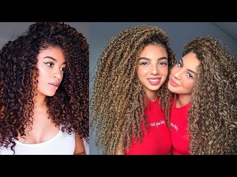 Curly Hair Is Beautiful | Hair Tutorial Compilation For Curly Hair 2017