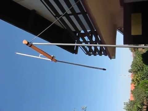 Download Antena je provizorno namestena samo radi probe