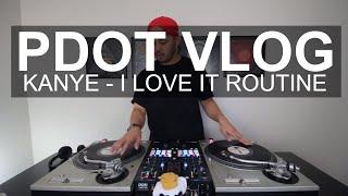 PDot Vlog - I Love It Routine