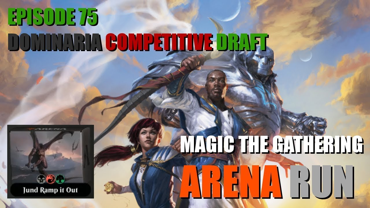 ae9a984093b MTG Arena Run: Competitive Draft of Dominaria #2