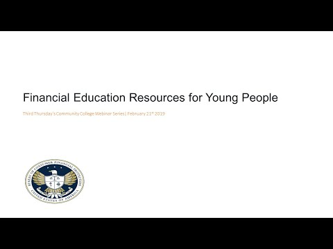 Financial Education Resources for Young People — consumerfinance.gov