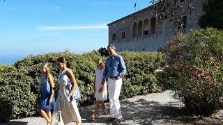 Los Reyes visitan la Casa Museo de Son Marroig
