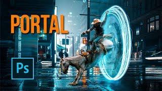 PORTAL - Photo Manipulation Tutorial