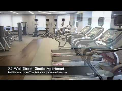 75 Wall Street - Studio Apartment