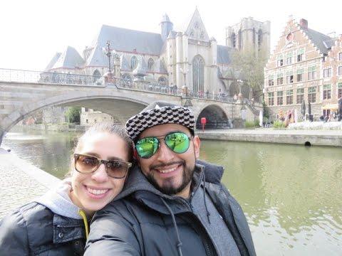 1000 Miles Road Trip in 5 days- Paris, Gent, Amsterdam!