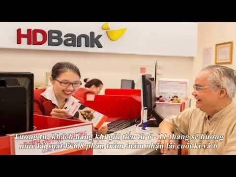Lãi Suất Ngân Hàng HDBank Cao Nhất Tháng 11/2019 Là 7,5%/năm
