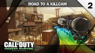 I HIT ONE OF MY BEST TRICKSHOTS! - MWR Road to a Killcam #2 (2 Trickshots)