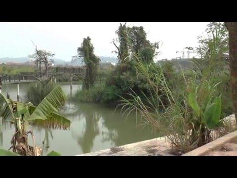Landscape at Kings Romans Casino, Golden Triangle, Laos