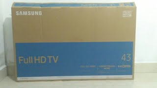 Samsung 43K5002 Full HD TV Unboxing || The Tech Show