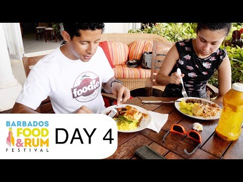 VLOG #7 – Home-cooked Sunday Lunch in Barbados!!