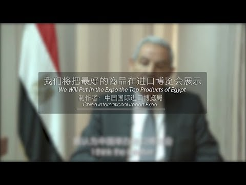 Minister of Trade and industry of Egypt: We Will Put in the Expo the Top Products of Egypt