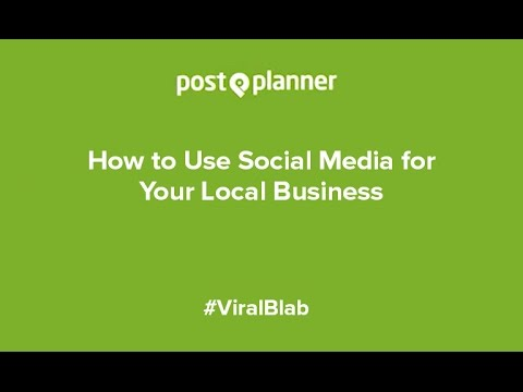 How to Use Social Media for Your Local Business