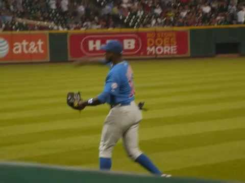 Alfonso Soriano Throw Analysis Chicago Cubs
