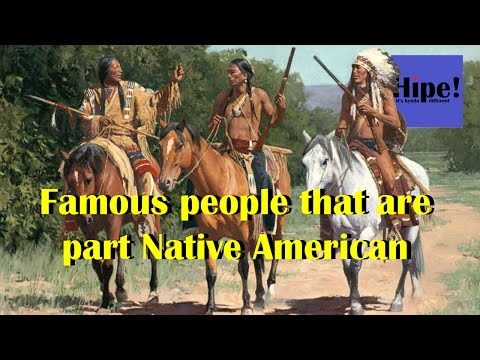 Celebs That Are Part Native American