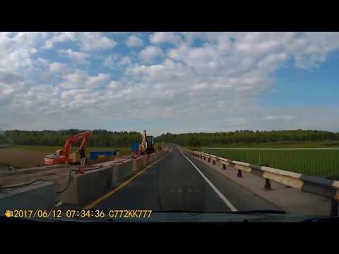 Медвежьегорск (Пудож) - Вологда - Ярославль, трасса А119 и М8