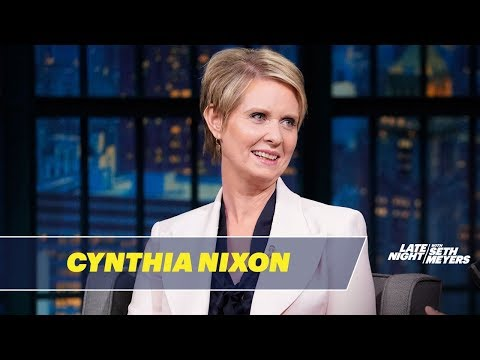 Cynthia Nixon Is Taking on the Political Establishment