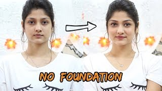 HOW TO DO MAKEUP IN SUMMERS WITHOUT FOUNDATION | Manasi Mau | For college/Office going girls!