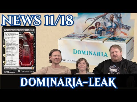 Magic News 11/18 Dominaria-Leak deutsch traderonlinevideo MTG Trader TOV trader-online.de