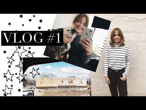 Vlog #1: House Walk Through, Furniture Picks & Daily Life