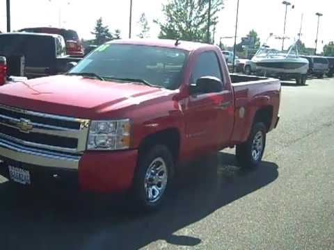 SOLD-2008 Chevrolet Silverado 1500 Regular Cab Short Bed ...