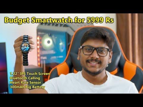 Best Budget Smartwatch For 5999Rs In India? Watchout Elegant Gen2 Smartwatch Review