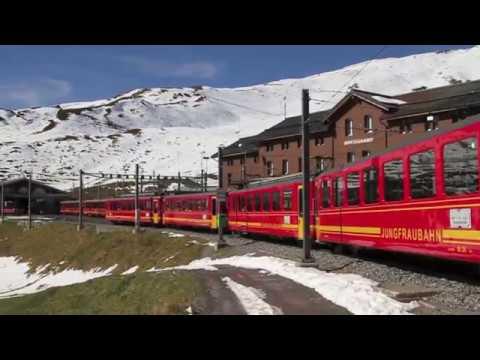 TOP of EUROPE || SWITZERLAND travel || JUNGFRAUJOCH Train Ride