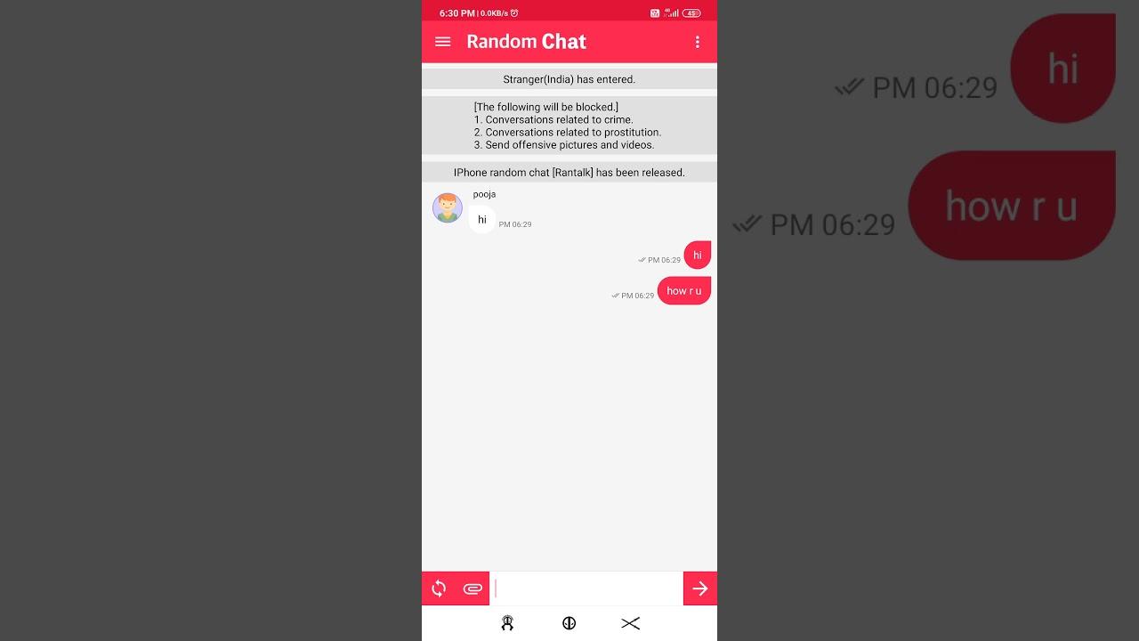Online-dating-chat am zweiten tag