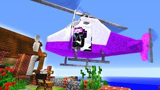 ¿¡ME COMPRO UN HELICOPTERO REAL!? | MINECRAFT TROLL