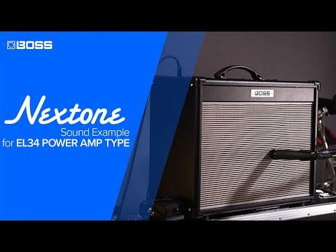 BOSS Nextone - Sound Example For EL34 Power Amp Type