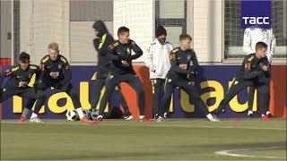 Молодежка Спартака помогает тренировать сборную Бразилии