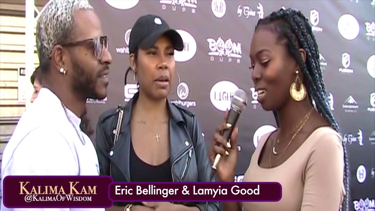 Lamyia Good And Eric Bellinger