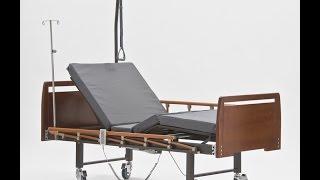 Медицинская кровать DB-7 Wood с электроприводом регулировки секций(Функциональная электрическая кровать DB-7 Wood http://www.met.ru/goods/2537/ для домашнего ухода за лежачим больным. Угол..., 2014-09-30T16:10:32.000Z)
