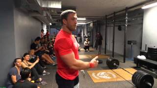 Dmitry Klokov - France, Paris- CrossFit Louvre