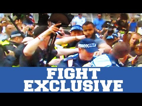 Tommy Robinsons Fans FIGHTS Mohammad Hijab | Unseen Footage & Review