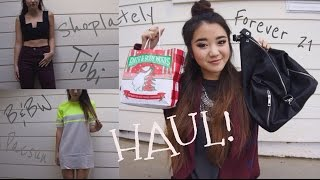 HAUL: Tobi, Forever 21, Pacsun, B&BW, ShopLately, & more! Thumbnail