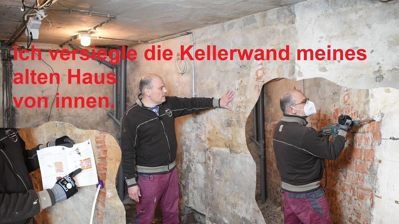 Feuchte Kellerwand von Innen Trocken legen