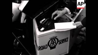 A A MEN RETURN TO THE ROAD (AUTOMOBILE ASSOCIATION)  - NO SOUND