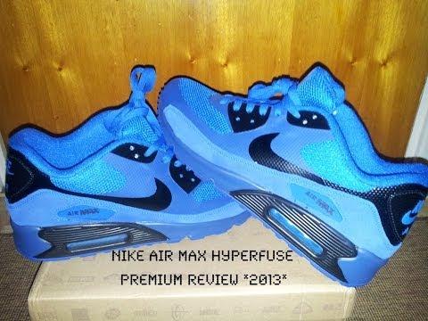 AliExpress Nike Air Max 90 HyperFuse Premium: Blue Neon