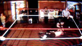 The Bank Job II: LIVE WIRE VS TRAVIS LEE {May 5, 2012 in Tomah, Wisconsin}