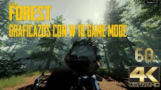 Graficazos con el Windows 10 Game Mode ✅ The Forest 4K 60fps